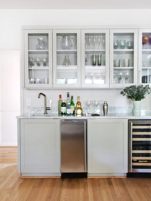 wet bar cabinets houzz. Black Bedroom Furniture Sets. Home Design Ideas