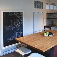 Contemporary Kitchen by Dwelling on Design, Deborah Derocher