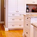 Walnut Kitchen Remodel Contemporary Kitchen
