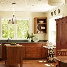 Farmhouse Kitchen by Joan Heaton Architects