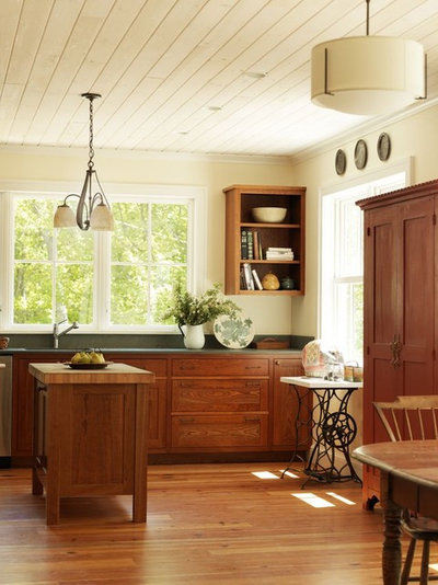 Farmhouse Kitchen by Joan Heaton Architects