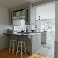 Farmhouse Kitchen by Peregrine Design Build