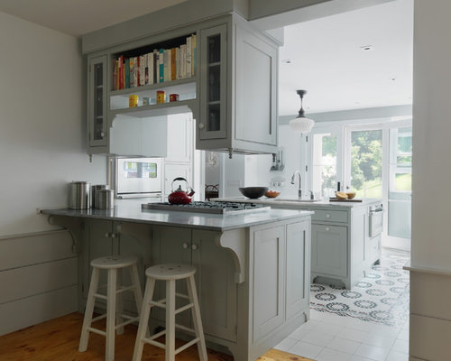 Peninsula Cabinet Ideas, Pictures, Remodel and Decor
