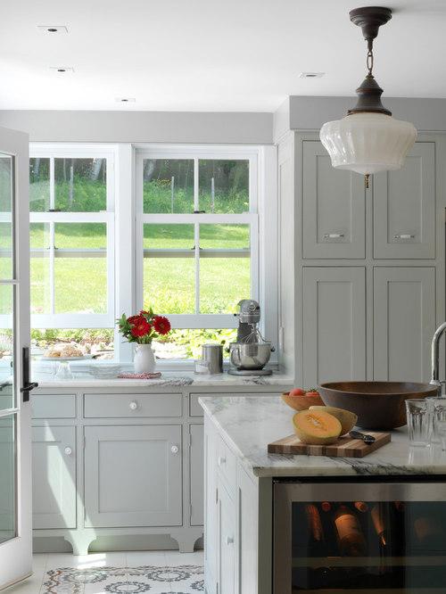 Light Gray Cabinet | Houzz