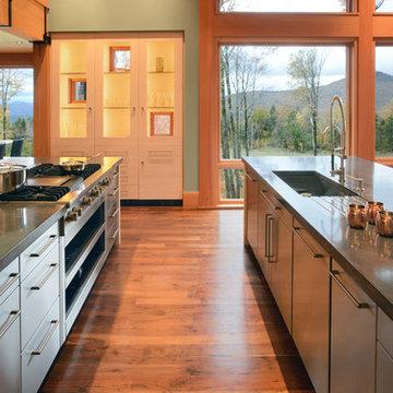 Vermont Mountain House Kitchen