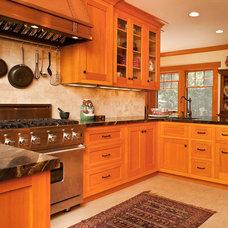 Traditional Kitchen by Warren Hile Studio