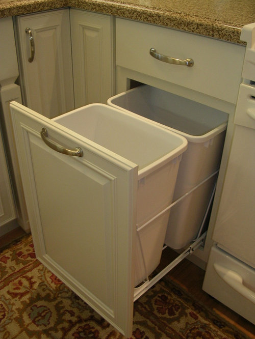 Trash Can Storage Home Design Ideas, Pictures, Remodel and Decor