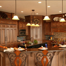 Traditional Kitchen by Armstrong Kitchens, Inc