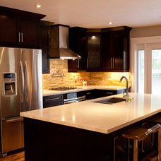 Kitchen by Barbeau-Group Inc. Properties &  Contracting