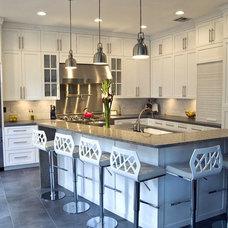 Contemporary Kitchen by Latera Architectural Surfaces / Dorado Stone