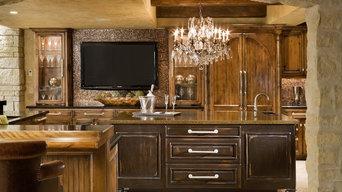 Vetro Moretti & Excalibur Kitchen