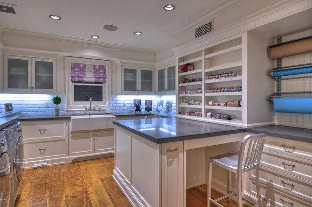 Traditional Laundry Room by Mark Reuter