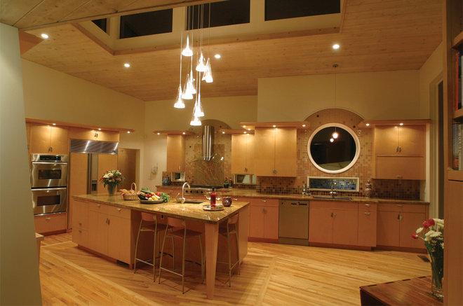 Contemporary Kitchen by HartmanBaldwin Design/Build