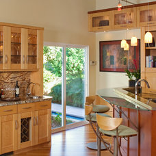 Transitional Kitchen by Design Studio West