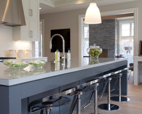 Farmhouse Open Concept Kitchen Design Ideas Amp Remodel Pictures Houzz
