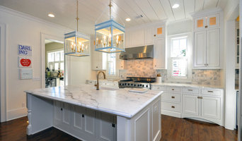Vickery Kitchen Gets Facelift With New Recessed Off White Cabinets