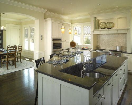 Two level island home design ideas pictures remodel and for Two level kitchen island