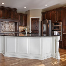 Traditional Kitchen by M & M Home Contractors Inc