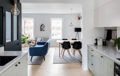 Houzz Tour: London Apartment Gets a Sense of Spaciousness