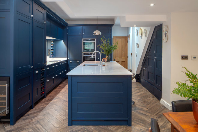 Transitional Kitchen by Pineapple Property