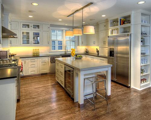 Refrigerator Cabinet | Houzz