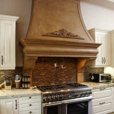 Transitional Kitchen by Omega Mantels of Stone