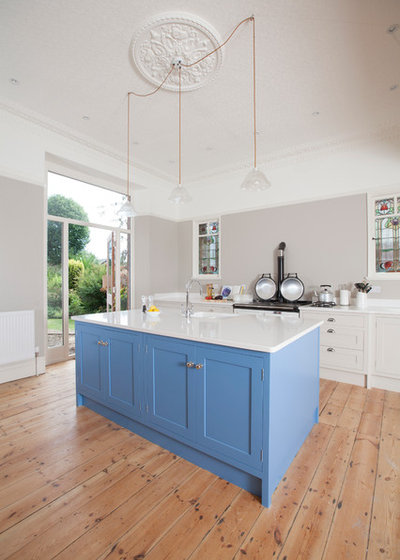 British Colonial Kitchen by Chalkhouse Interiors