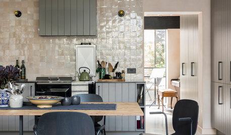London Houzz Tour: A Converted Dairy With a Magical Courtyard