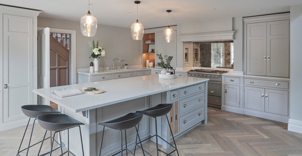 Transitional Kitchen by Cherie Lee Interiors