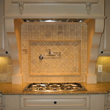 Traditional Kitchen by Stroble Building Company