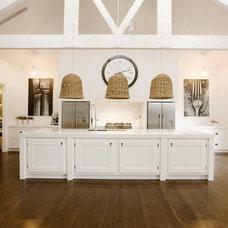 Transitional Kitchen by Roy Hodgson Design