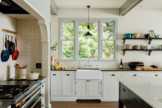 Farmhouse Kitchen by Anne Niedergang, Architect