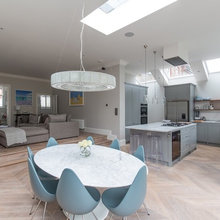 Houzz Tour: Modern Cool and an Open Design in a London Victorian