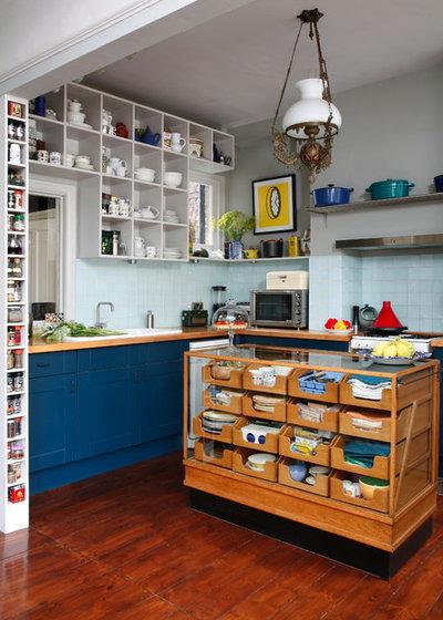 エクレクティック キッチン by Alison Hammond Photography
