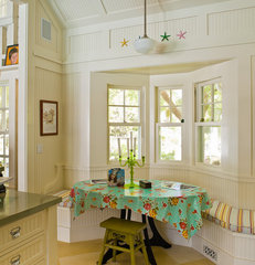 eclectic kitchen by John Malick & Associates