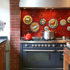 Eclectic Kitchen by andre kleynhans interiors
