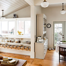 Transitional Kitchen by Vicki Simon Interior Design