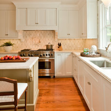 Transitional Kitchen by Taste Design Inc