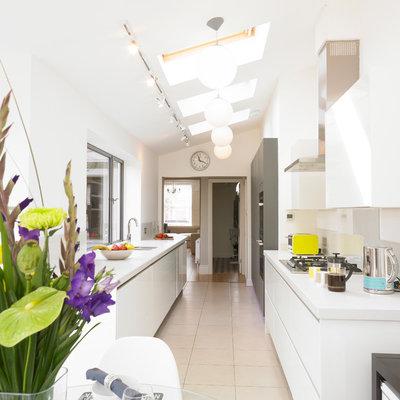 Contemporary Kitchen by Cream & Black Interior Design