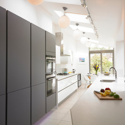 Contemporary Kitchen by Cream & Black Inside Design
