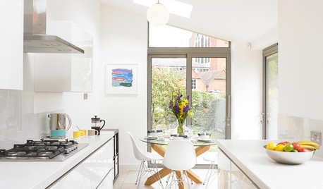 Kitchen of the Week: Simple Style Opens Up a Narrow Galley Space