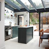 Kitchen Tour: A Narrow Room Becomes a Luxurious Kitchen-diner