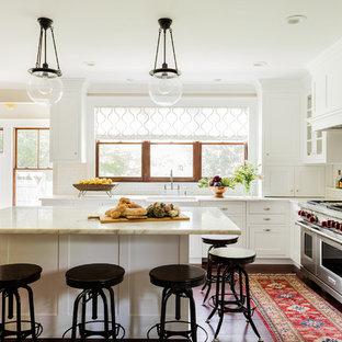 Victorian White Kitchen