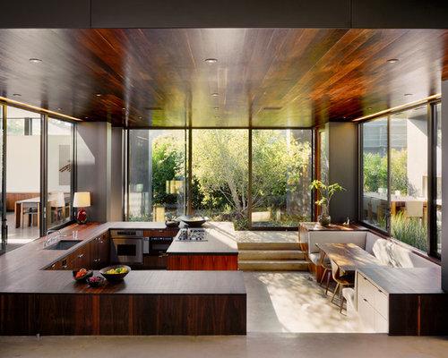 Modern Eat In Kitchen Designs