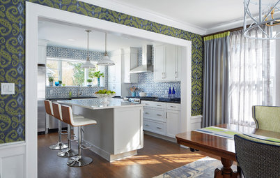 Before and After: An Island and Storage Transform a Kitchen