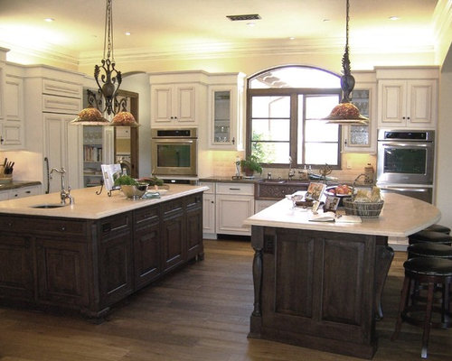 Best double island kitchen design ideas remodel pictures for Dual island kitchen designs