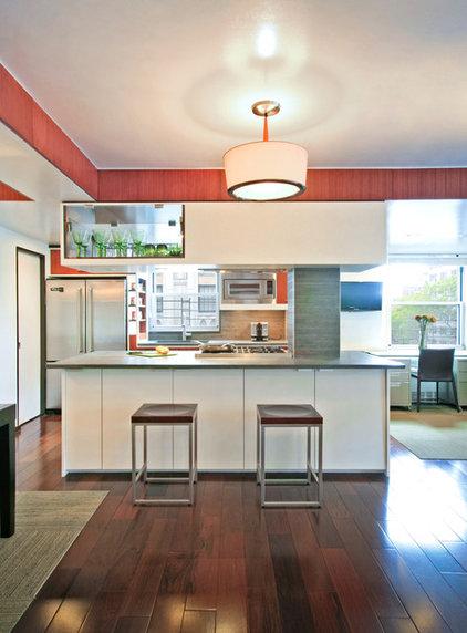 Contemporary Kitchen by Rodriguez Studio Architecture PC