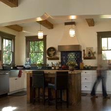 Mediterranean Kitchen by Marcelle Guilbeau, Interior Designer