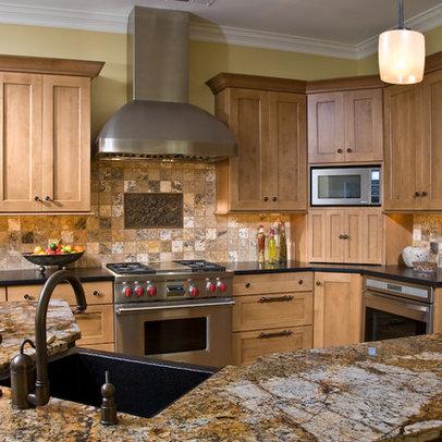 Kitchen design ideas picture for Earth tone kitchen ideas