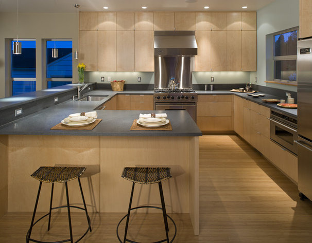 Contemporary Kitchen by Rhodes Architecture + Light